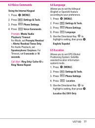 user layout en español vx7100 cellular pcs cdma phone with bluetooth user manual layout 1