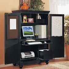 Computer Armoire Cabinet Office Desk Armoire Cabinet Interior Design