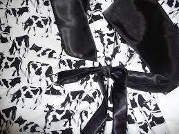how now black white cow cherrypix sewingpix