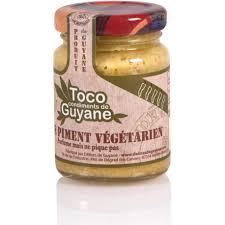 cuisine guyanaise delices de guyane pâte de piment végétarien toco 100g guyane