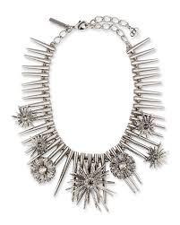 star statement necklace images Oscar de la renta celestial star statement necklace gray neiman jpg