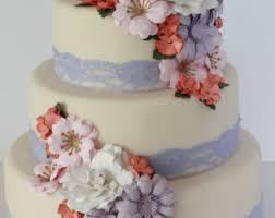 wedding cake flower wedding cake flowers etsy