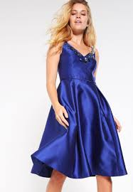 adrianna papell cocktail dress party deep blue women dresses