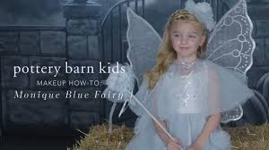 Pottery Barn Butterfly Costume Easy Halloween Makeup Tutorial Blue Fairy Costume For Pottery