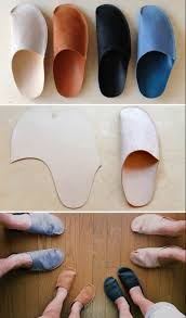 simple diy homemade slippers for home sewing slippers craft and diy simple home slippers might be good for those with a