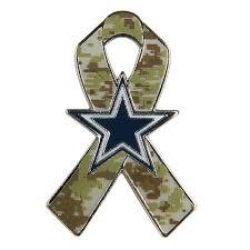 dallas cowboy ribbon dallas cowboys camo ribbon lapel pin accessories mens