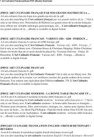 dictionnaire cuisine francais dictionnaire cuisine francais 100 images livre dictionnaire