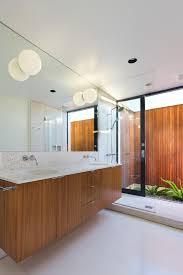mid century vanity bathroom midcentury with indoor outdoor shower