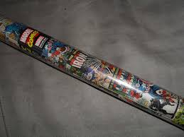 marvel wrapping paper my wrapping paper addiction had no chance when i saw this at