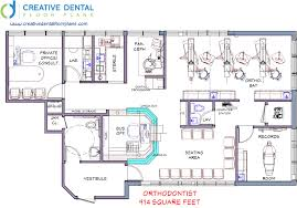 Orthodontic Office Design Floor Plan