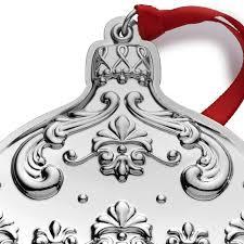 gorham chantilly 2016 gorham silver ornament
