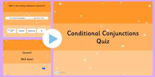 conjunctions spag grammar quiz connectives spag