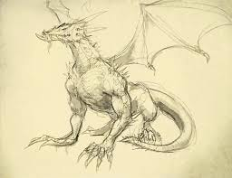 how to draw a dragon drawing and digital painting tutorials online