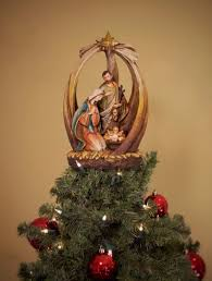 holy family with unique tree topper summit arbor summit