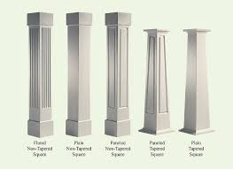 craftsman style columns