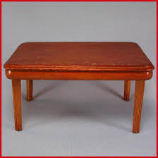 kage dollhouse dining room table u2013 maple stain late 1930s u2013 1940s
