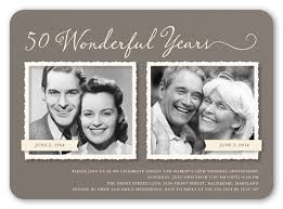 50 anniversary ideas 50th wedding anniversary party ideas shutterfly