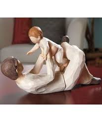 these look like willow tree figurines but are way cheaper so