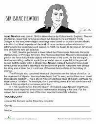 albert einstein biography ks2 isaac newton biography worksheets cycling and homeschool