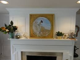 decorating fireplace mantel for summer lehman lane