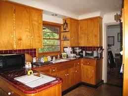 mid century kitchen ideas narrow kitchen table drawer on concrete