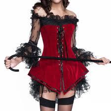 Women Gothic Push Up Lace Corsets Dress Us 19 00