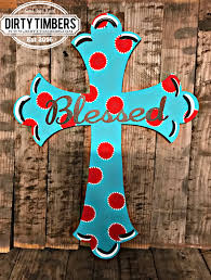 painted cross door hanger unfinished wood cut outs etsy