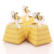 favor ribbons yellow honey bee diy favour box with ribbons gift boxes