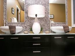 L Shaped Bathroom Vanity by Bathroom Mirrors Ideas Glass Vase Table Clock Double Sink Bathroom