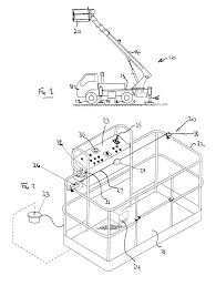 patent us8490746 aerial lift with safety device google patents