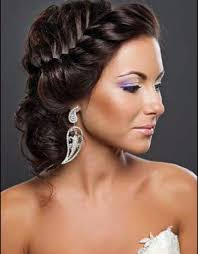 Elegant Bridal Hairstyles by Bridal Hairstyle With Tiara Women Medium Haircut