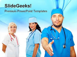 team people handshake medical powerpoint templates and powerpoint