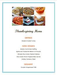 thanksgiving menu ideas hoosier