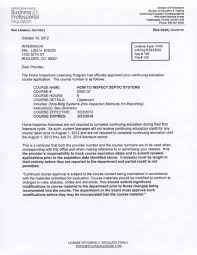 H Certification Letter Florida Dbpr Approval Of