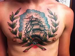 sailor on chest