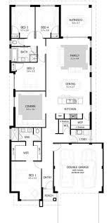 4 Bedroom Floor Plans For A House Best 25 Narrow House Plans Ideas On Pinterest Small Open Floor