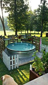 Landscaping Ideas For Backyard With Dogs by Best 25 Homemade Swimming Pools Ideas Only On Pinterest