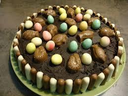 cuisine de paques gâteau de pâques au chocolat et fruits rouges la cuisine d une