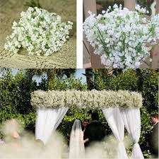 amazon com kemilove 10pcs 1bouquet artificial gypsophila flower