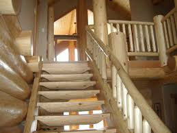 stairs railings and more north american log crafters