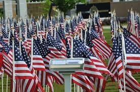 Who Made The Flag Airmen Honored At Field Of Honor Ceremony U003e Air Force Reserve