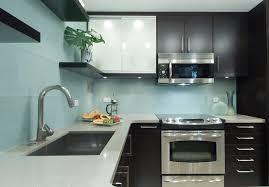 Glass Backsplash Kitchen by Blue Glass Tile Kitchen Backsplash Fantastic Blue Tile Backsplash