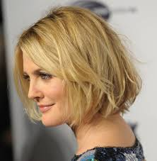 short haircut long bangs hair style and color for woman