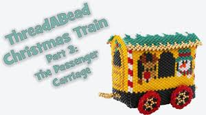christmas train ornament pattern part 3 the passenger carriage