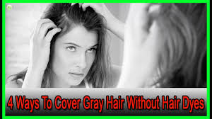 what is the best way to cover gray hair bellatory 4 ways to cover gray hair without hair dyes best home remedies