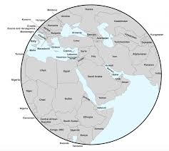 Africa Middle East Map by Customizable Map Of The Middle East Geocurrents