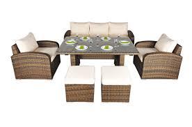 Rattan Garden Furniture Sofa Sets Rattan Garden Sofa Sets Free Uk Delivery Oak Furniture King