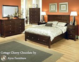 timeless traditional design of solid cherry bedroom furniture