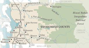 seattle map by county the seattle times local news snohomish county map