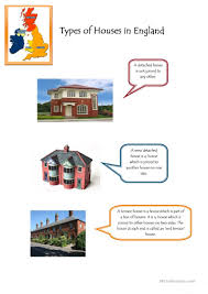 11 free esl types of houses worksheets